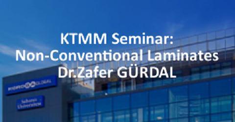 KTMM Seminar:Non-Conventional Laminates