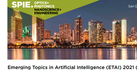 Emerging Topics in Artificial Intelligence (ETAI) 2021 (OP110)
