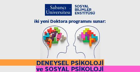 Sosyal Bilimler Enstitüsü'nden iki yeni Doktora programı