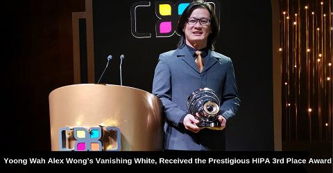 Yoong Wah Alex Wongs Vanishing White, Received HIPA 3rd Place Award