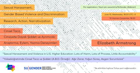 Sexual Harassment and Violence in U.S. Higher Education, E. Armstrong