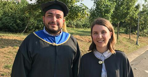 Success of our Mathematics MS graduate Ayk Telciyan!