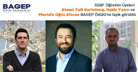 Young Scientist Award 2019 (BAGEP) to FASS Faculty Members