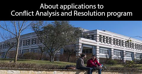 About applications to Conflict Analysis and Resolution Program