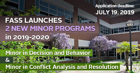 FASS launches two new Minor Programs in 2019-2020