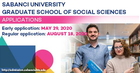 Graduate School of Social Sciences 2020-2021 Fall Semester Applications