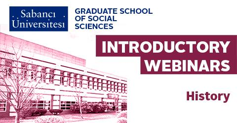 History Graduate Program Introductory Webinar