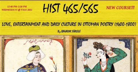 New Course: Love, entertainment and daily culture in Ottoman Poetry