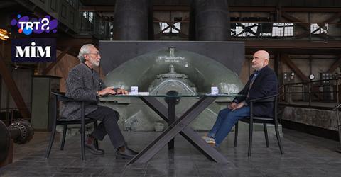 Murat Germen was Nevzat Sayın's guest on MİM