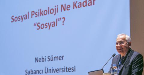 Çiğdem Kağıtçıbaşı Lifetime Achievement Award Was Given to Nebi Sümer
