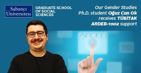 TÜBİTAK ARDEB-1002 supports our Gender Studies PhD student Oğuz Can Ok
