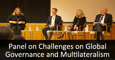 Panel on Challenges on Global Governance and Multilateralism