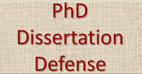 Phd dissertation assistance defense