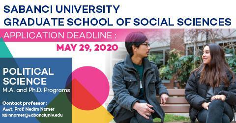 Political Science Program 2020-2021 Fall Semester Applications