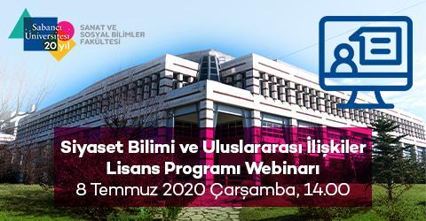 Siyaset Bilimi ve Uluslararası İlişkiler Lisans Programı Webinarı