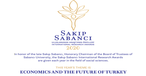 Sakıp Sabancı International Research Awards 2020