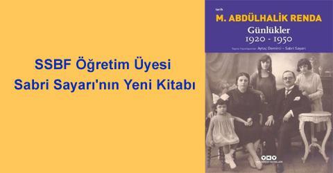 Sabri Sayarı'nın Yeni Kitabı