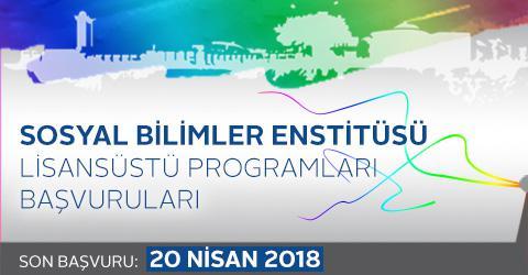SBE Lisansüstü Programları 2018 - 2019 Güz Dönemi Başvuruları