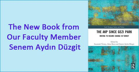 The New Book from Our Faculty Member Senem Aydın Düzgit