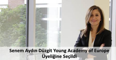 Senem Aydın-Düzgit Young Academy of Europe Üyeliğine Seçildi