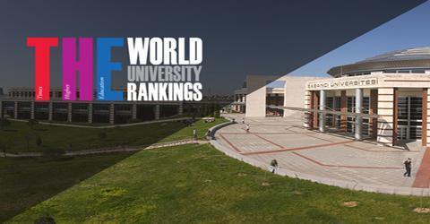 Türkiyeden Dünyanın En İyi 400 Üniversitesi içine giren tek üniversite