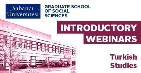 Turkish Studies Graduate Program Introductory Webinar
