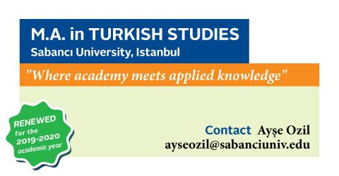 Turkish Studies M.A. program has renewed its curriculum and requirements