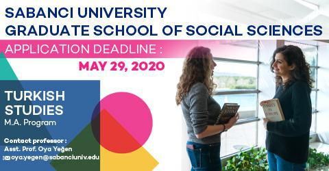 Turkish Studies Program 2020-2021 Fall Semester Applications