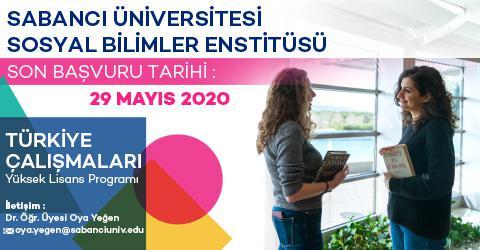 Türkiye Çalışmaları Programı 2020-2021 Güz Dönemi Başvuruları