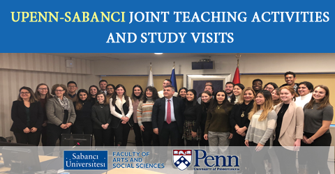 UPENN-Sabancı Joint Teaching Activities and Study Visits