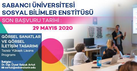VAVCD  Programı 2020-2021 Güz Dönemi Başvuruları