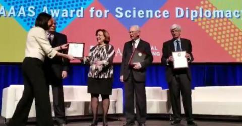 Zehra Sayers'e 2019 Bilimde Diplomasi Ödülü