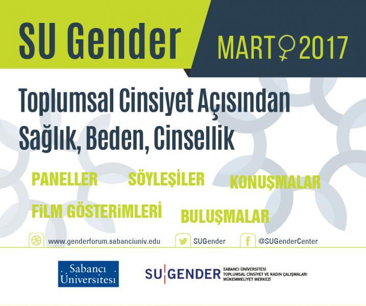 SU Gender 8 Mart Etkinlikleri