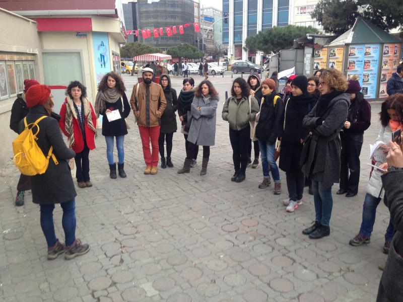 Cins Adımlar Kadıköy'deydi