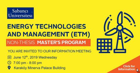 Energy Technologies and Management (ETM) Program