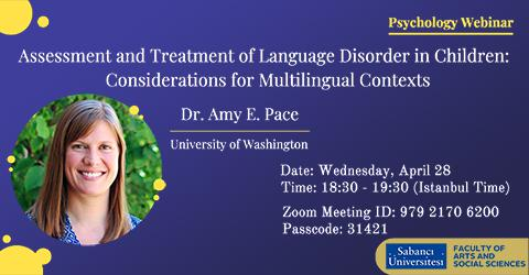 Psychology Webinar: Amy E. Pace (University of Washington)