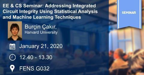 EE & CS Seminar: Addressing Integrated Circuit Integrity Using Statis...