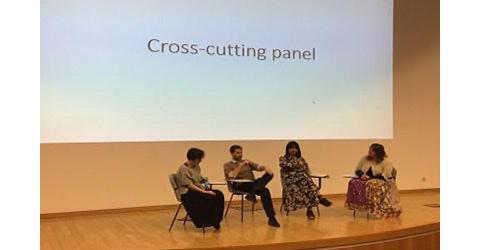 Cross cutting panel