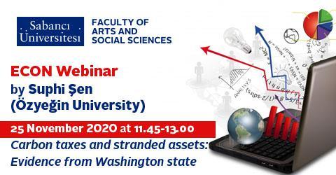 Econ Webinar by Suphi Şen (Özyeğin University)