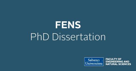 PhD Dissertation Defense:Merve Zuvin