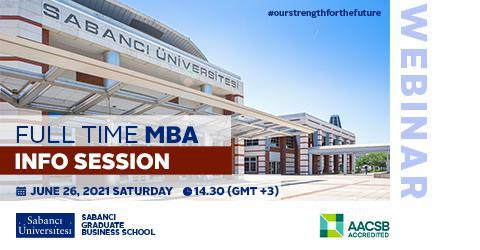 We invite you to our Full- time MBA Program Information Session