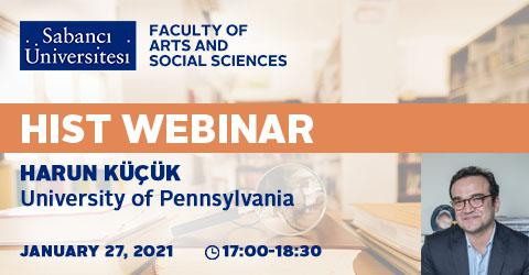 HIST Webinar: Harun Küçük (University of Pennsylvania)