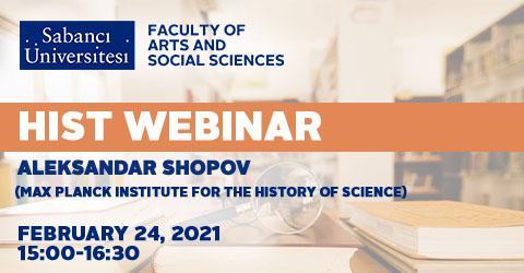 HIST Webinar: Aleksandar Shopov