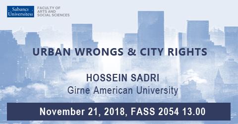 CONF Seminar: Hossein Sadri (Girne American University)