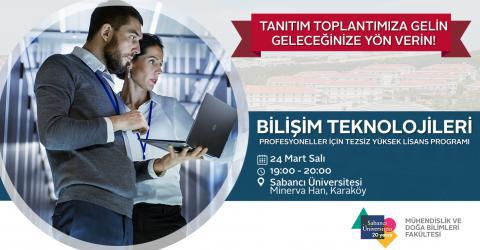 Bilişim Teknolojileri Tezsiz Yüksek Lisans Programı Tanıtım Toplantısı