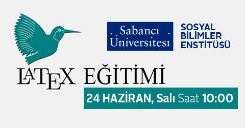 Sosyal Bilimler Enstitüsü LATEX Eğitimi