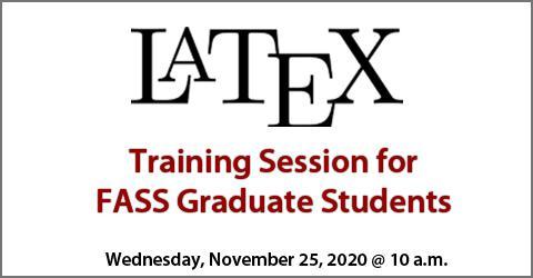 FASS Latex Training