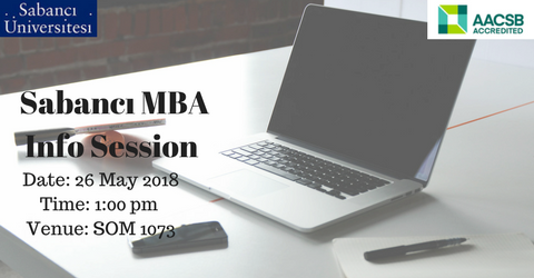 Full-time MBA Information Session - 26 May 2018
