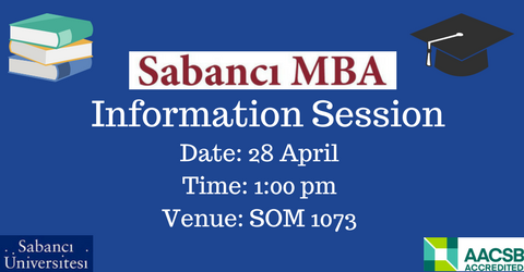 Full-time MBA Information Session - 28 April 2018