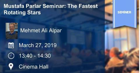 Mustafa Parlar Seminar: The Fastest Rotating Stars